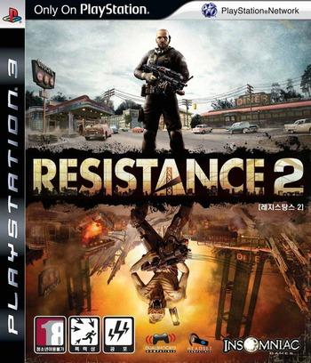 레지스탕스2 PS3 coverM (BCKS10057)