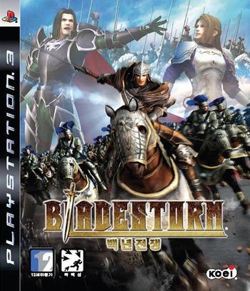 블레이드스톰:백년전쟁 PS3 coverM (BLKS20028)