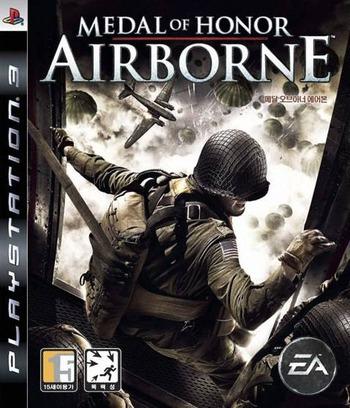 메달 오브 아너-에어본 PS3 coverM (BLKS20029)