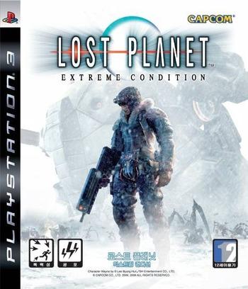 로스트 플래닛 익스트림 컨디션 PS3 coverM (BLKS20055)