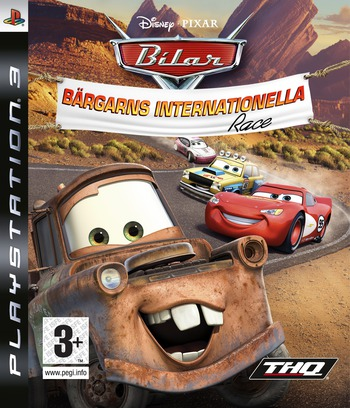 Bilar: Bärgarns Internationella Race PS3 coverM (BLES00162)