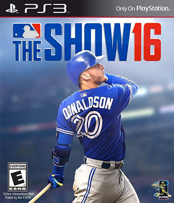 MLB The Show 16 PS3 coverM (BCUS01089)