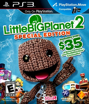 LittleBigPlanet 2: Special Edition PS3 coverM (BCUS90260)