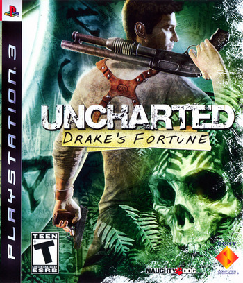 Uncharted: Drake's Fortune PS3 coverM (BCUS98103)