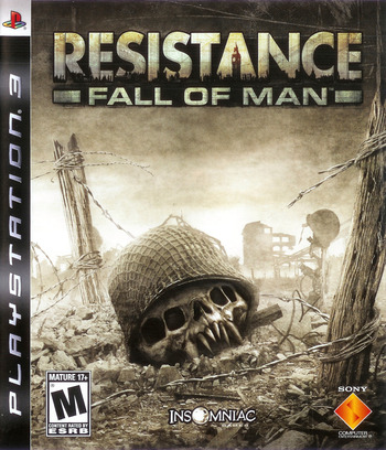 Resistance: Fall of Man PS3 coverM (BCUS98107)