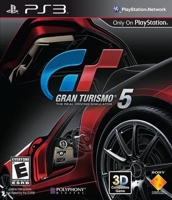 Gran Turismo 5 PS3 coverM (BCUS98114)