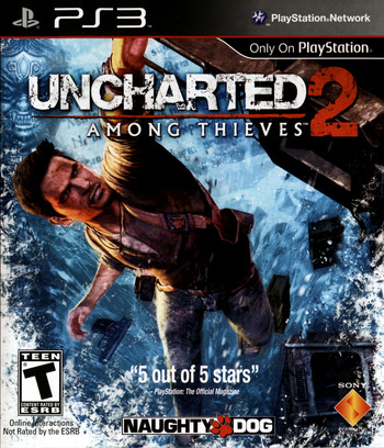 Uncharted 2: Among Thieves PS3 coverM (BCUS98123)