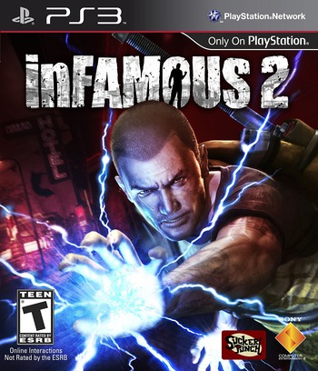 inFamous 2 PS3 coverM (BCUS98125)