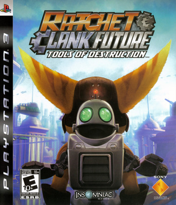 Ratchet & Clank: Future - Tools of Destruction PS3 coverM (BCUS98127)