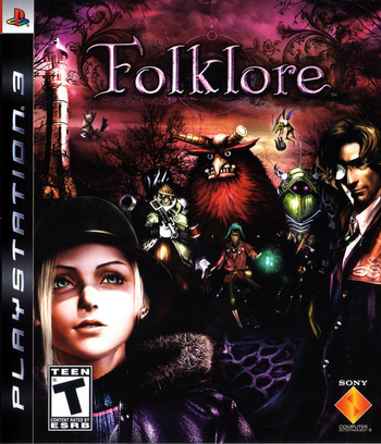 Folklore PS3 coverM (BCUS98147)
