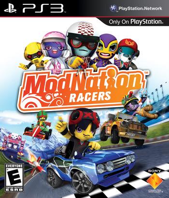 ModNation Racers PS3 coverM (BCUS98167)