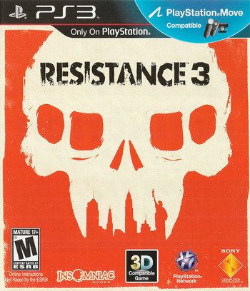 Resistance 3 (Doomsday Edition) PS3 coverM (BCUS98176)
