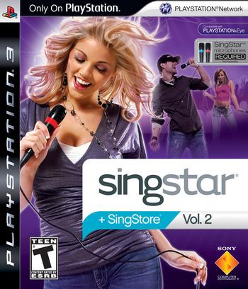 SingStar Vol.2 PS3 coverM (BCUS98178)