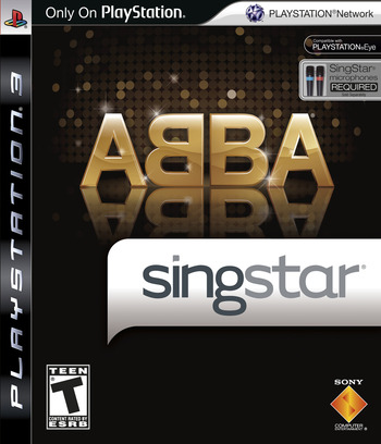 SingStar ABBA PS3 coverM (BCUS98192)