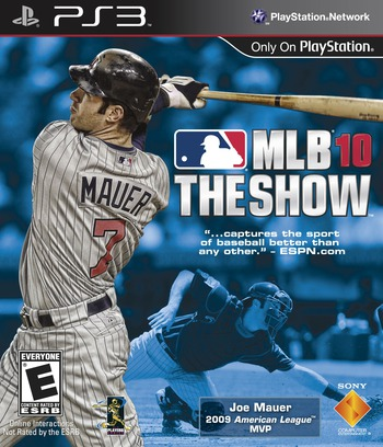 MLB 10: The Show PS3 coverM (BCUS98207)
