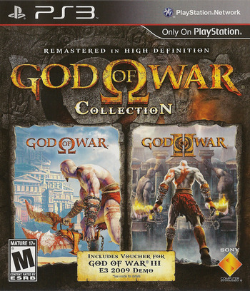 God of War Collection PS3 coverM (BCUS98229)