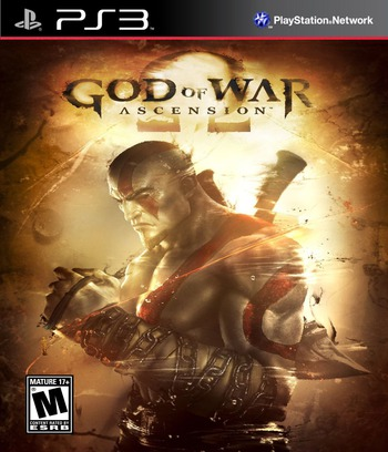 God of War: Ascension PS3 coverM (BCUS98232)