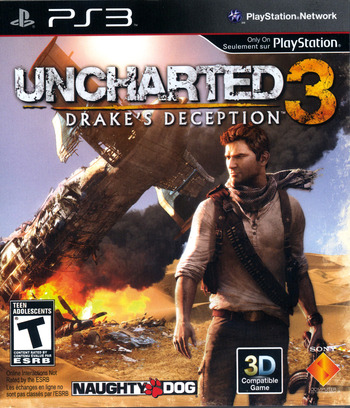 Uncharted 3: Drake's Deception PS3 coverM (BCUS98233)
