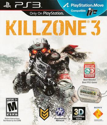 Killzone 3 PS3 coverM (BCUS98234)