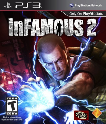 inFamous 2 (Hero Edition) PS3 coverM (BCUS98290)