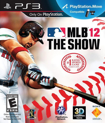 MLB 12: The Show PS3 coverM (BCUS98295)