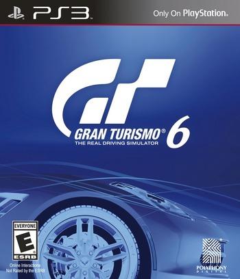 Gran Turismo 6 PS3 coverM (BCUS98296)