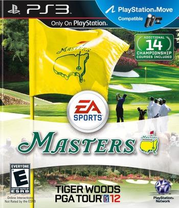 Tiger Woods PGA Tour 12 PS3 coverM (BCUS98374)