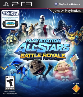 PlayStation All-Stars Battle Royale PS3 coverM (BCUS98472)