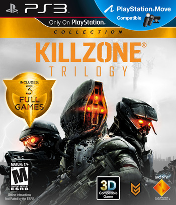 Killzone Trilogy PS3 coverM (BCUS99075)