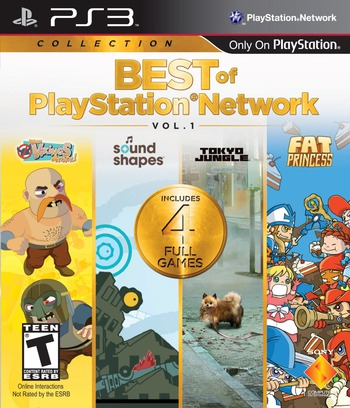 Best of PlayStation Network: Vol. 1 PS3 coverM (BCUS99205)