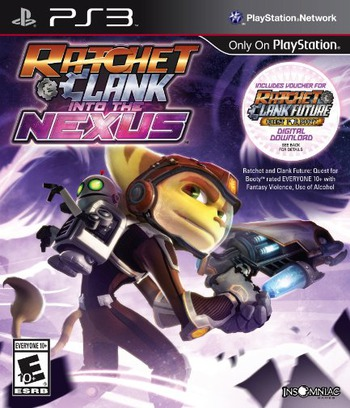 Ratchet & Clank: Into the Nexus PS3 coverM (BCUS99245)