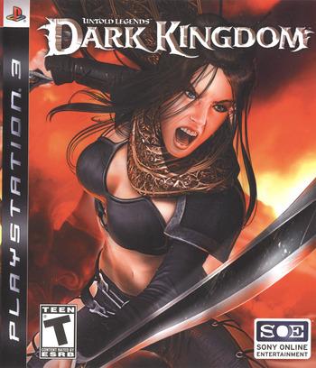 Untold Legends: Dark Kingdom PS3 coverM (BLUS30002)