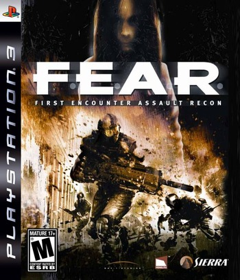 F.E.A.R. PS3 coverM (BLUS30003)