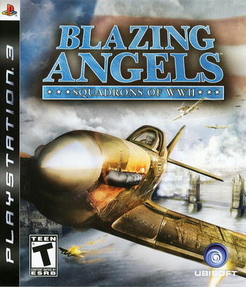 Blazing Angels: Squadrons of WWII PS3 coverM (BLUS30006)