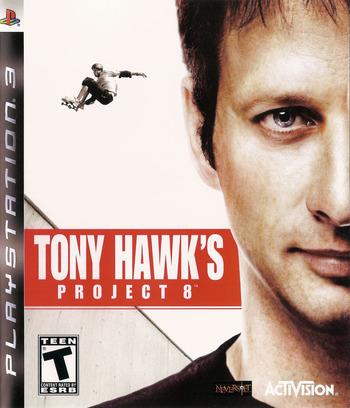 Tony Hawk's Project 8 PS3 coverM (BLUS30011)