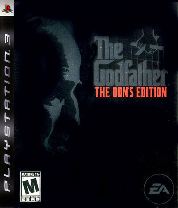 The Godfather: The Don's Edition PS3 coverM (BLUS30023)