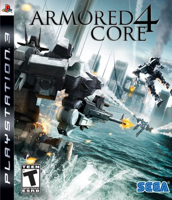 Armored Core 4 PS3 coverM (BLUS30027)
