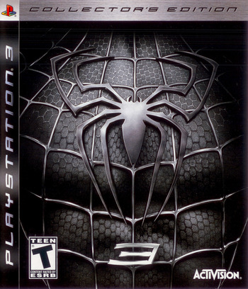 Spider-Man 3 (Collector's Edition) PS3 coverM (BLUS30030)