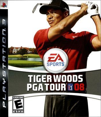 Tiger Woods PGA Tour 08 PS3 coverM (BLUS30053)