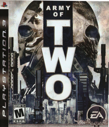 Army of Two PS3 coverM (BLUS30057)