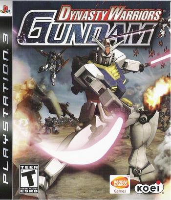 Dynasty Warriors: Gundam PS3 coverM (BLUS30058)