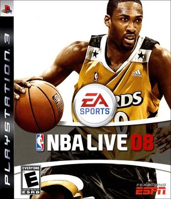 NBA Live 08 PS3 coverM (BLUS30060)