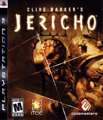 Clive Barker's Jericho PS3 coverM (BLUS30063)