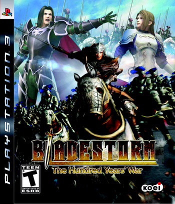 Bladestorm: The Hundred Years' War PS3 coverM (BLUS30070)