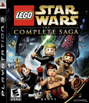 LEGO Star Wars: The Complete Saga PS3 coverM (BLUS30079)