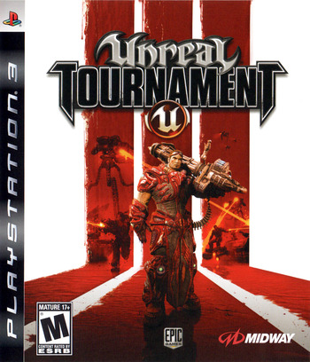 Unreal Tournament III PS3 coverM (BLUS30086)
