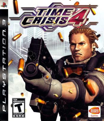 Time Crisis 4 PS3 coverM (BLUS30093)