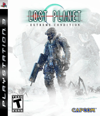Lost Planet: Extreme Condition PS3 coverM (BLUS30113)