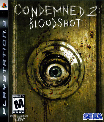 Condemned 2: Bloodshot PS3 coverM (BLUS30115)