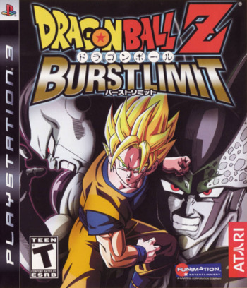 Dragon Ball Z: Burst Limit PS3 coverM (BLUS30117)